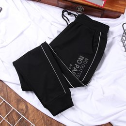 Discount sweatpants hot DONAMOL New fashion Hot drill Plus size women's Casual long Pants Harem Trouser loose Autumn and winter Sweatpants Y200418