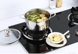 1000ml Neue Edelstahlküche Kochen Kasserolle Niederländisch Ofen Für Induktionskocher Deckeldeckel mit zwei Griffen im Angebot