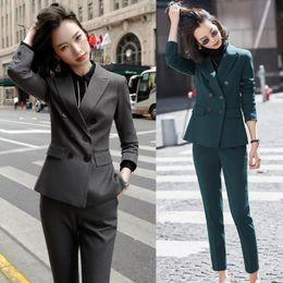 Damas Elegantes Formales Juegos De Pantalones Oferta Online Dhgate Com