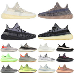 2020 Kanye Top Quality West Yeeeeezy Men Women Running Shoes V2 Cloud White True Form Yecheil Zebra Tail Light Sneakers Trainers on Sale