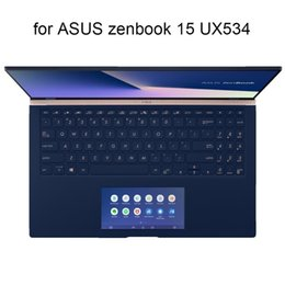 asus keyboard skin UK - Keyboard Covers for ASUS zenbook 15 UX534 FA UX534FT UX533 vivobook S15 S532 new 2020 clear silicone skin protector cover TPU
