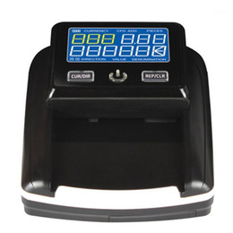 LCD screen mini banknote detector Support US Dollar Euro Banknotes Foreign Currency Counter Intelligent forgery Casino1 on Sale