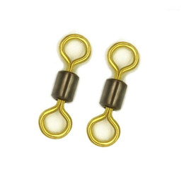 1000 2000 3000Pcs Copper Rolling Swivel Solid Connector Ball Bearing For Fishhook Lure Sea Fishing Tool Accessories Pesca Peche1