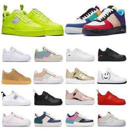 Frete Grátis Homens Casuais Sapatos de Froced 1 Homens Baixo Sneakers Forças Um Mens Trainers Sports Skate One Sports White Air Sneakers BT11 em Promoção