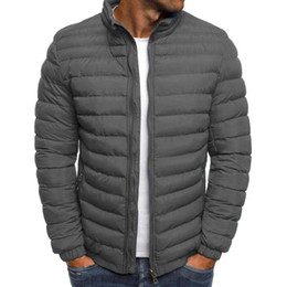 Wholesale mens quilted jackets resale online - VICABO Packable Light Mens Down Puffer Jacket Bubble Ski Coat Quilted Padded Outwear lightweight Water Resistant Puffer Jacket
