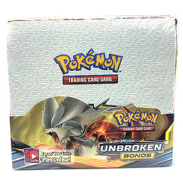 Classic series UNBORKEN BOND es cards English language Booster Box Collectible Trading Cards Game for kids on Sale