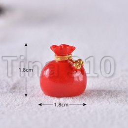 Wholesale old man socks online – funny Christmas Decoration Christmas old man Snowman micro landscape snowscape Ornament Christmas socks small gift bell resin ornament HHB2290