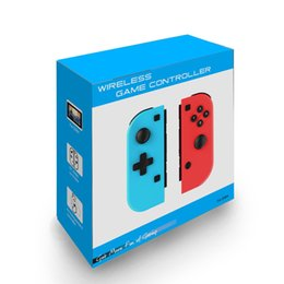 Großhandel Wireless Bluetooth Game Gamepad Controller für Nintendo Switch Console Gamepads Controller Joystick Spiele wie Freude-Con mit Retail-Box