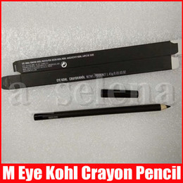 M Eye Makeup Kohl Crayon Pencil Eyeliner Pencil 1.45g Cool Black Eye Liner Pen on Sale