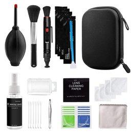 Professional DSLR Lens Cameras Cleaning Kit Equipment Spray Bottle Len Pen Brush Blower Practical Digital Camera Clean Tool on Sale