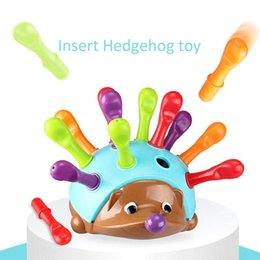 XMY-Training konzentriert auf Kinder feiner motorischer Handaugenkoordination Kampf eingesetztes Igel-Baby-pädagogisches Spielzeug im Angebot