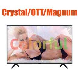 Wholesale Magnum OTT Crystal Lxtream Link m3u smart TV screen adult xxx hot sell arabic French Germany Spain US Canada 1year warranty protector
