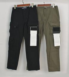 venda por atacado 20ss emblema Patches da trilha dos homens Pant Letters Design de Moda Jogger Carga Calças Calças Zipper Fly calças compridas Homme Vestuário