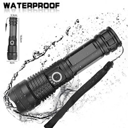 High-power LED 20W 5V Micro USB Rechargeable Telescopic Zoom Flashlight Suitable For Camping, Climbing, Night Riding, Caving on Sale