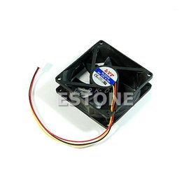 Wholesale exhausted fan for sale - Group buy Connector Cooler Cooling Heatsink Exhaust Fan for Computer Box CPU Motherboard Cooler Radiator Pin x x mm1