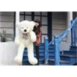 Discount low teddy bears High quality Low price Plush toys large size100cm   teddy 1m big embrace bear dollYAFZ