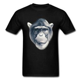 gorilla tshirt UK - Gorilla Monkey Face Sketch T shirt Men T Shirt Summer Tshirt Black Oversized Tops Tee Shirts Hipster Style sport Hooded Sweatshirt Hoodie