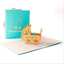 Handmade CARTE JOYEUX ANNIVERSAIRE Flamingo Design Papier Découpé Carte Cut