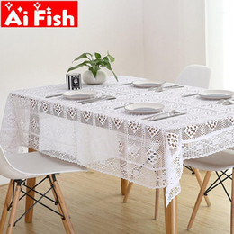 waschbare Tischdecke Dinner Picknick Tischdecke Home Spitze Tischdecke