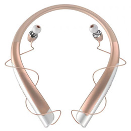 lg hbs headset Australia - HBS1100 Tone Platunum HBS-1100 Wireless Collar Headset Support NFC Bluetooth 4.1 HIFI Sports Hands-free Headphone LG Bluetooth Headset