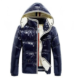 Wholesale jackets for men's resale online - 2020 High Quality Brands Warm Ski Winter Jacket Men s Designer Coat Embroidery Jackets for Men Anorak Padded Parkas Thick Down Jacket