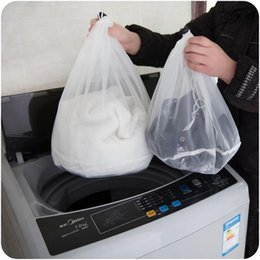 Discount types textiles Large-capacity thin and thin mesh bra clothes textile washing machine with cleaning protection bag packaging