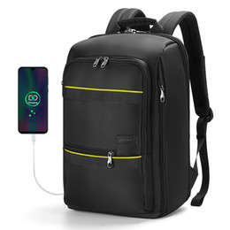 Ingrosso Tigernu Zaino Men Casual impermeabile notebook Borse sacchetto di scuola per viaggi adolescente maschio sacchetto dei bagagli di alta qualità Sport Zaini