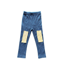 Wholesale kids wear tights for sale - Group buy Girls Leggings Kids Tights Girls Trousers Spring Autumn Cotton Casual Skinny Pants Kids Clothes Toddler Wear Years B3876