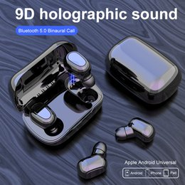 Hot selling wireless bluetooth best gaming wireless headset L21 TWS mini in-ear sports binaural stereo for iPhone and Samsung mobile phones