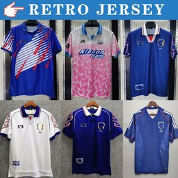top retro jersey 00 02 06 Japan NAKATA Mens Retro Soccer Jerseys 94 96 98 National Team SOMA AKITA OKANO KAWAGUCHI Home Away Football