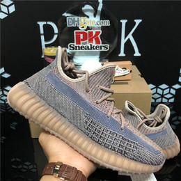 Top quality Fade Eliada Kanye West Men Women Running Shoes Natural Yecheil Oreo Desert Sage Earth Asriel Zebra 3M Static Reflective Shoes on Sale