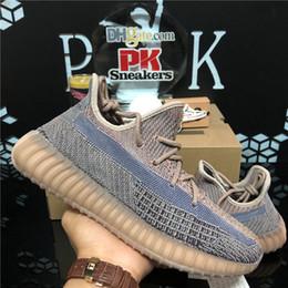 Top quality Fade Eliada Kanye West Men Women Running Shoes Natural Yecheil Oreo Desert Sage Earth Asriel Zebra 3M Static Reflective Shoes on Sale