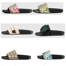 NEW slipper Gear bottoms mens women striped sandals causal Non-slip summer huaraches slide flip flops slipper on Sale
