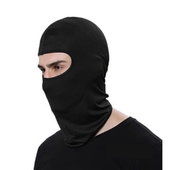 Gesichtsmaske, leichte Motorradwärmer Ski-Maske Full Face Lycra Balaclava Headwear für Männer im Angebot