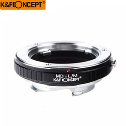 lens mounting adapter Australia - K&F CONCEPT Camera Lens Adapter Ring for Minolta MD SR Mount Lens to for Leica M mount L M Camera Body