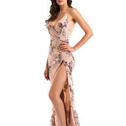 Wholesale fantasy sexy dress for sale - Group buy C1iqV Women s sequin fantasy new sexy nightclub skirt Dress high Women s fork fantasy sequin new nightclub sexy Suspender skirt Dress high fo