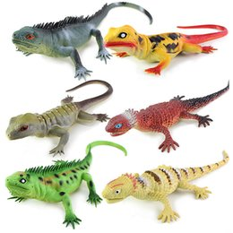 kids whistles Australia - Immitation Lizard Sound 6 colors 34.5cm Kids funny BB whistle Voice toys Animal models Decompression Toy Halloween Gifts