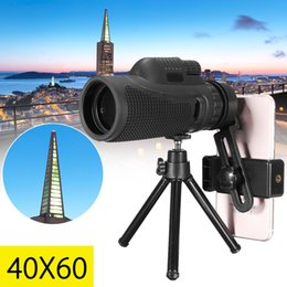 monocular telescope for smartphone Australia - 40x60 Zoom Telephoto Lens HD Monocular Telescope Phone Camera Lens Universal for iPhone for Android Smartphone Mobile
