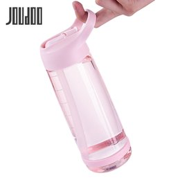 classic plastics Australia - JOUDOO 1000ml Outdoor Water Bottle with Straw Sports Bottles Eco-friendly with Lid Hiking Camping Plastic 35 201106
