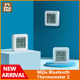 Wholesale Xiaomi Youpin Mijia Bluetooth Thermometer 2 Wireless Smart Electric Digital Hygrometer Thermometer Work with Mijia APP