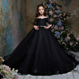 new look fashion dress 2021 - 20201 the new style feather simple good-looking fashion hand-made flower puff dress host girls piano performance dress