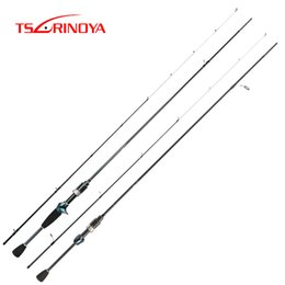 TSURINOYA Dexterity Spinning Fishing Rod 1.92m UL Tip Fast Action Carbon Fiber Portable Bass Carp Trout Spinning Rod Pole 201022 on Sale