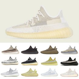 kanye west sneakers cheap 2021 - Cheap Hot blue pearl stone v2 carbon kanye west mens Outdoor shoes fade sand taupe natural reflective men women trainers sports sneakers