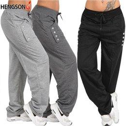 Wholesale plus size harem pants resale online – Hip Hop Harem Joggers Pants Male Pants Men Trousers Mens Fitness Solid Pocket Sweatpants Plus Size