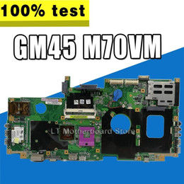 asus motherboard lga 2021 - X71A Laptop motherboard For Asus Test original mainboard GM45 M70VM M70VN M70VIntegrated graphics discount asus motherbo