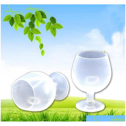 Wholesale glass cams for sale - Group buy Portable Rubber Wine Beer Glass Standing Goblet Sile Cup Wine Glasses For Outdoor Cam jllnKR eatout