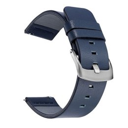 18mm 20mm 22mm Quick Release Watchband for Samsung Galaxy Gear S3 Active 2 Smartwatch Band Casual Leather Straps correa on Sale
