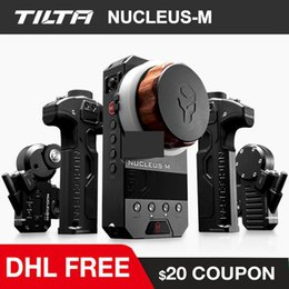 ronin camera 2020 - TILTA Nucleus-M Wireless Follow Focus nucleus Film DSLR Video Camera Lens Remote Control System for 3-Axis Gimbal RED DJ