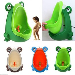 Bébé Potty toilettes formation grenouille enfants Support vertical Urinoir garçons Pee Infant Toddler Wall-Mounted