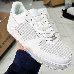 Dior x Nike Air Force 1 Low 20s af1 sapatos de moda de luxo feminino designer de couro alto couro casual corrida ao ar livre sapatos homens e mulheres sapato alto 36-45 em Promoção